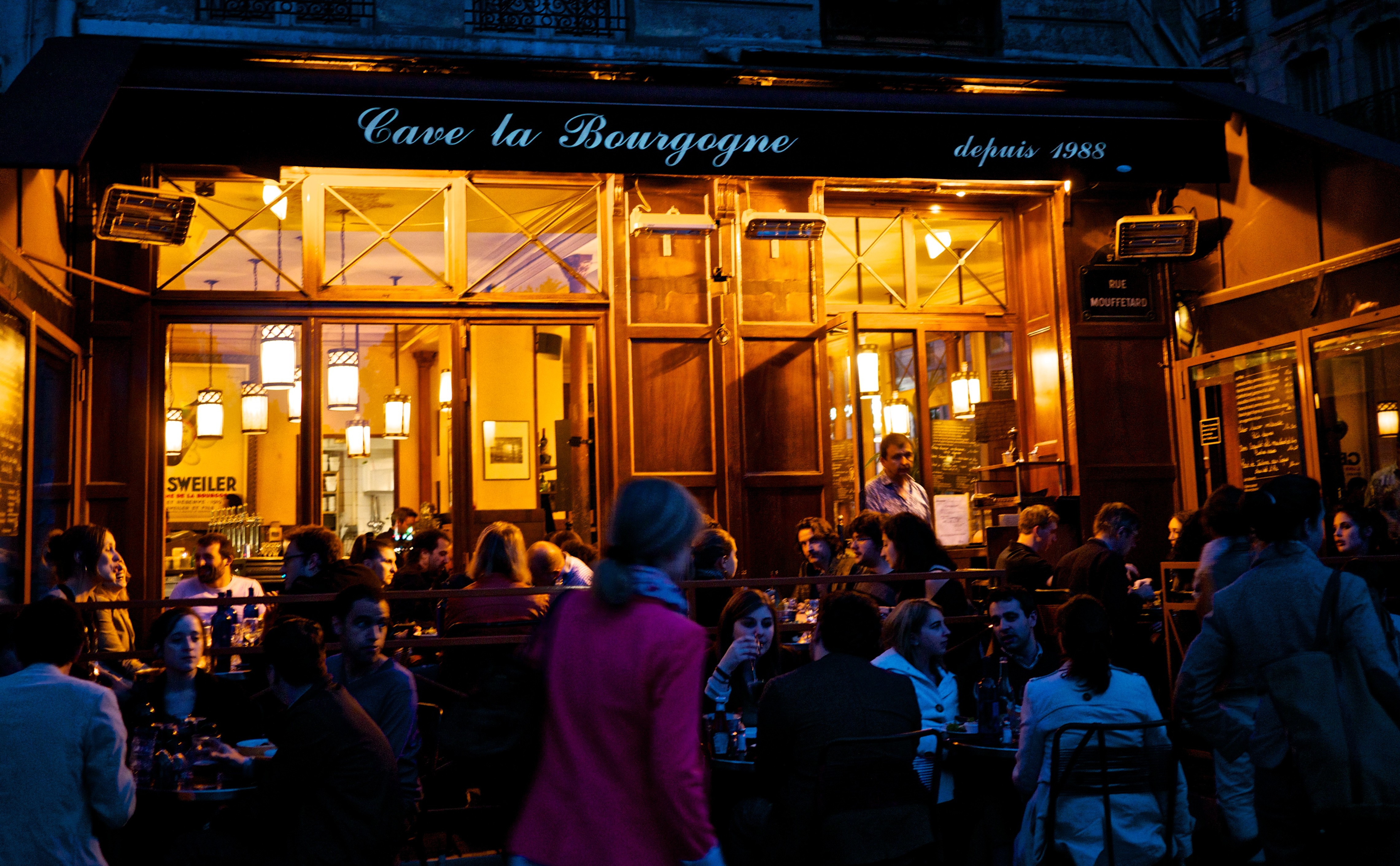 Cafe Le Bourgogne Paris Mouffetard