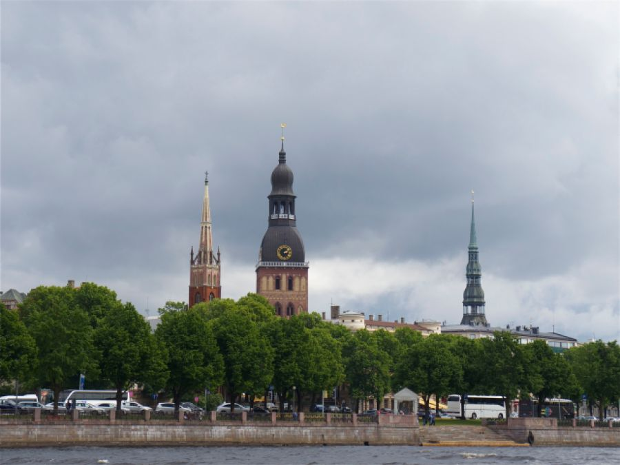 Riga_Blick aufs Wasser