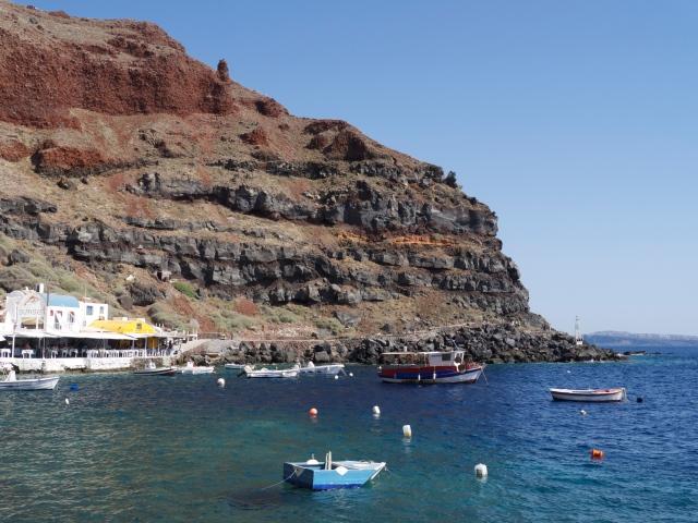 Hafen Oia Santorini Inselhopping Griechenland