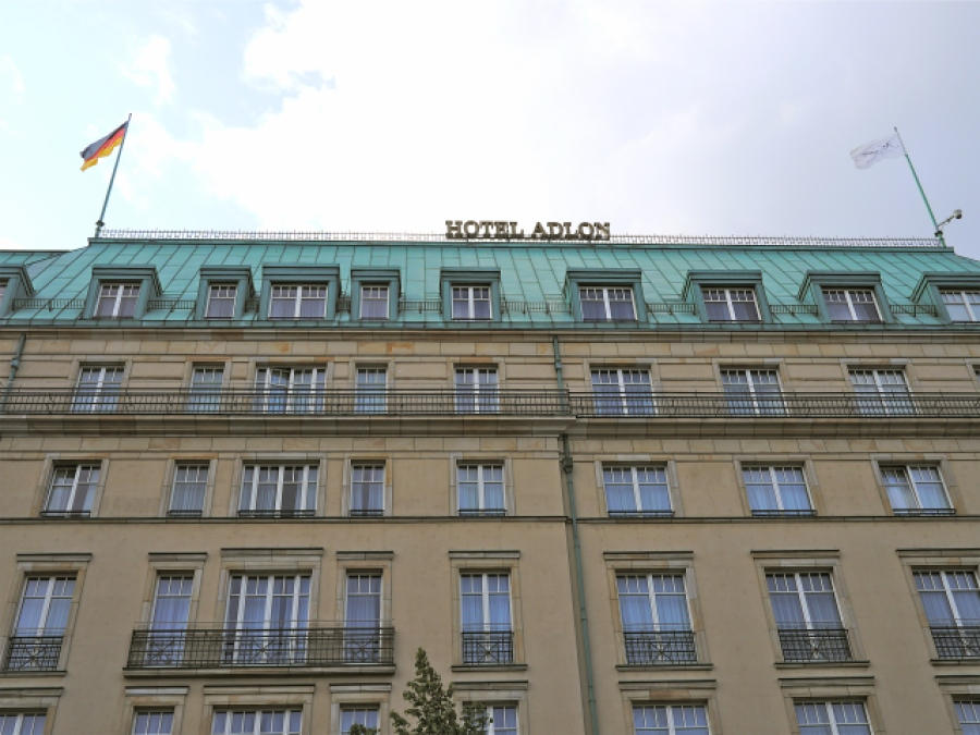 Das Adlon in Berlin