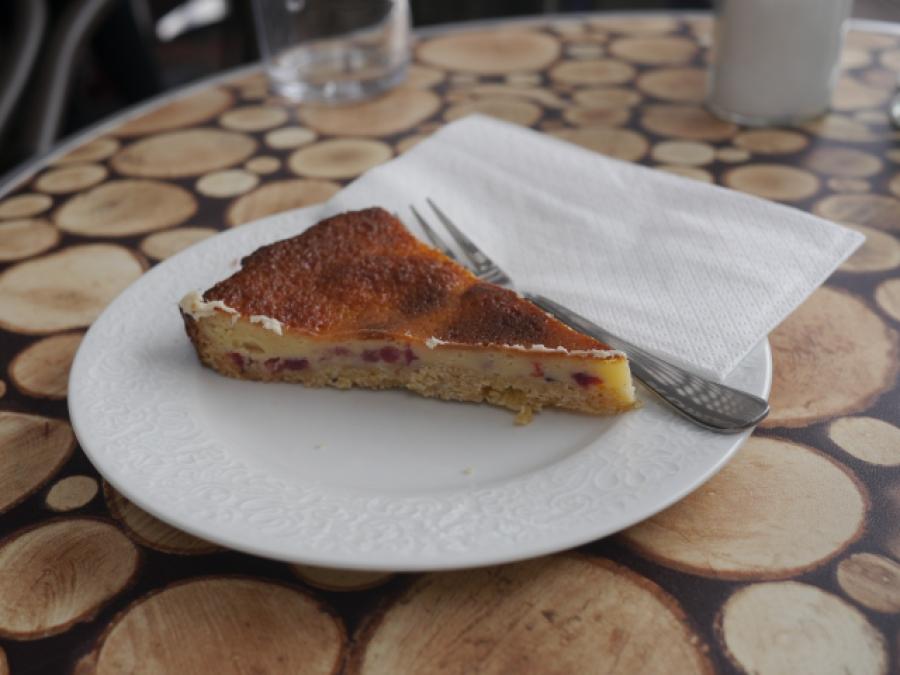 Leckerer Kuchen im Café Frohlein in Hamburg Winterhude