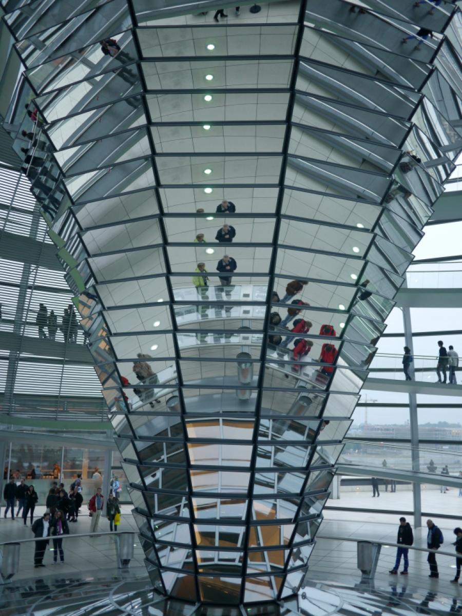 Reichstags-Kuppel Besuch in Berlin