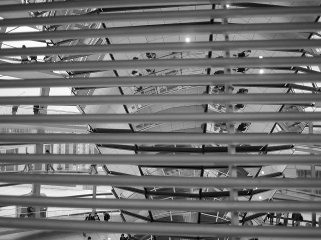 Kuppel im Reichstagsgebäude Berlin