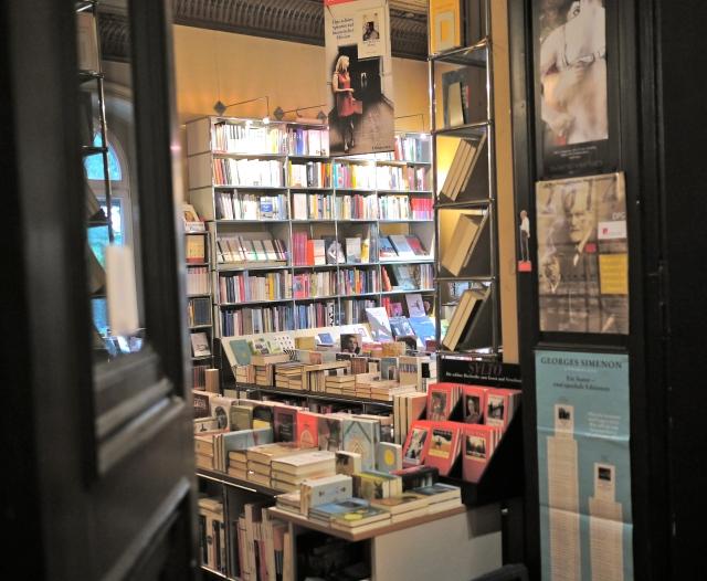 Buchhandlung Samtleben im Literaturhaus Hamburg