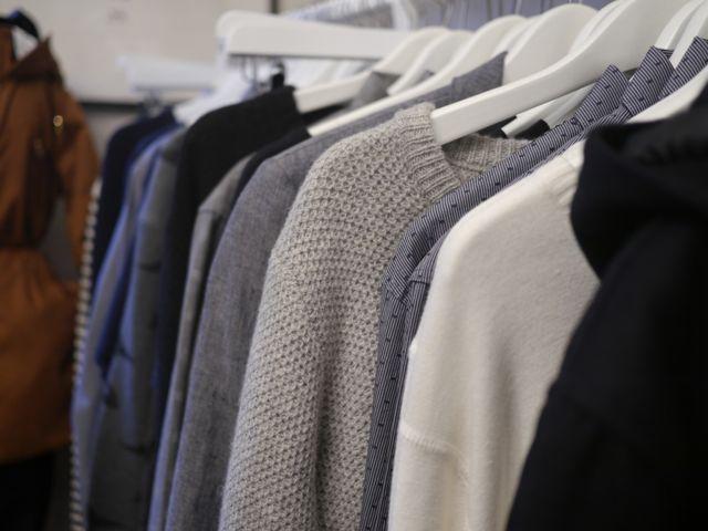 Skandinavische Mode bei Frau Hansen