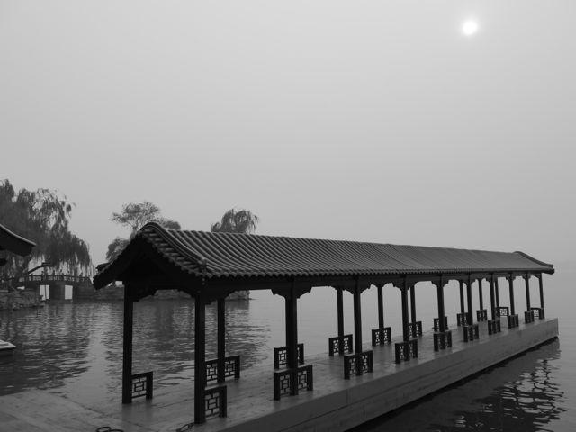 Black and white photo challenge China