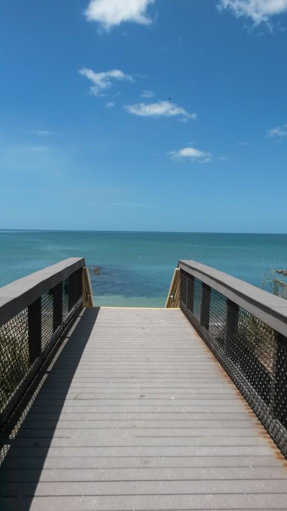 Was für eine Aussicht: Das Meer in Florida