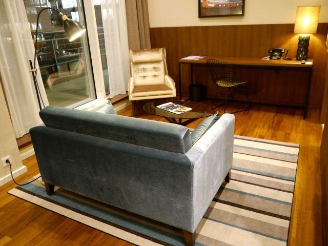 Ameron Speicherstadt Suite Sitzbereich