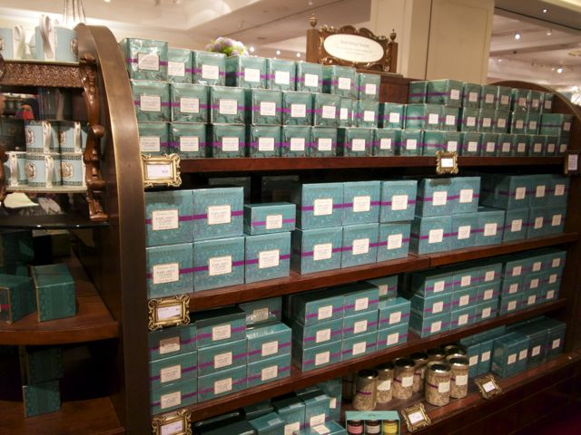 Tee bei Fortnum and Mason London