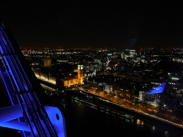 Aublick vom London Eye