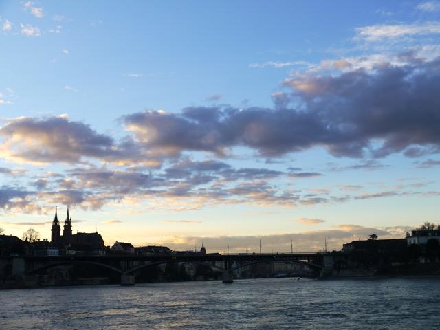 Basel Sant Alban Ufer