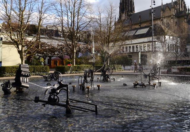 Basel-Tipps Tinguely Brunnen Blog