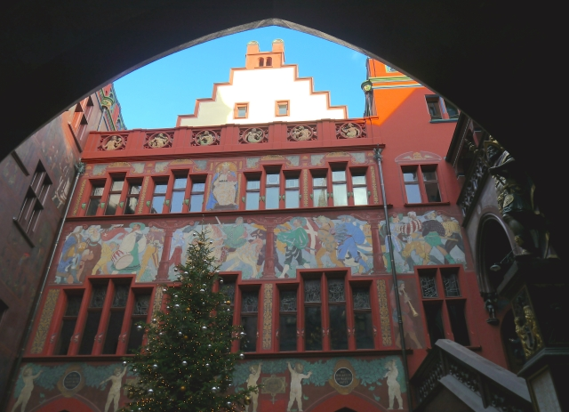 Basel_Rathaus Innenhof