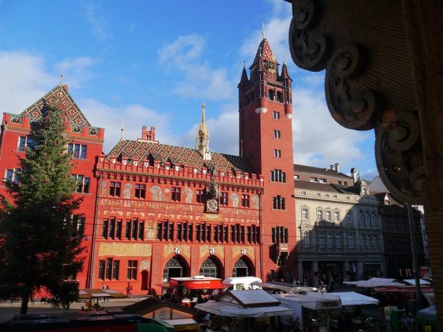 Basel Reisebericht: Toller Blick aus dem Café Schiesser