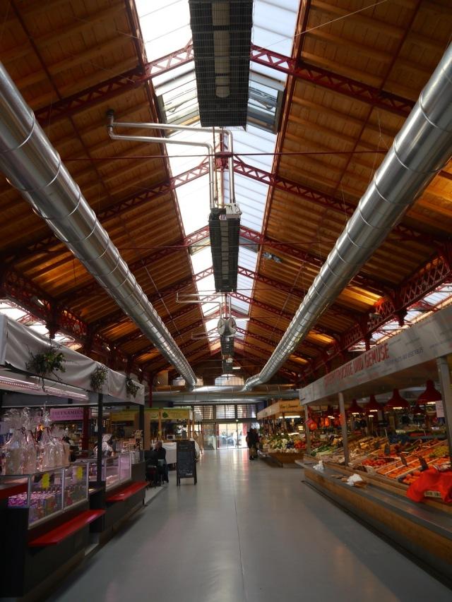 Colmar Markthalle von Innen