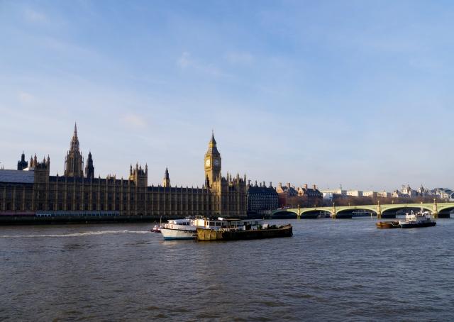 London_Blick auf House of Parliament