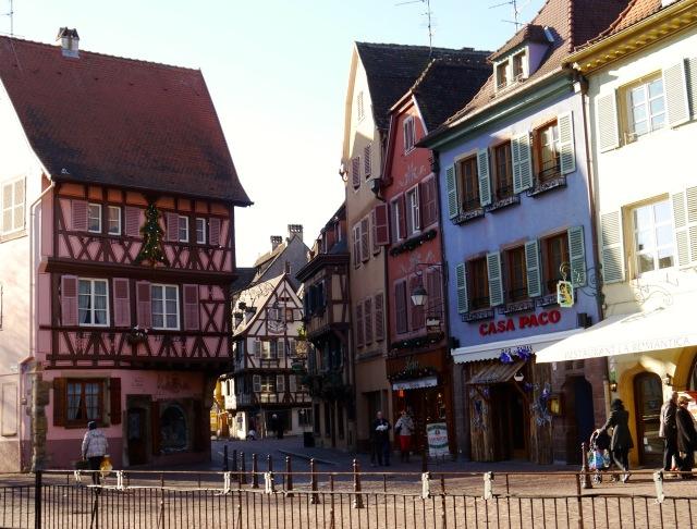 Colmar im Elsass - idyllische Altstadt