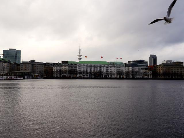 Hamburg_Winter an der Alster