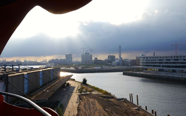 Blick auf Hafencity