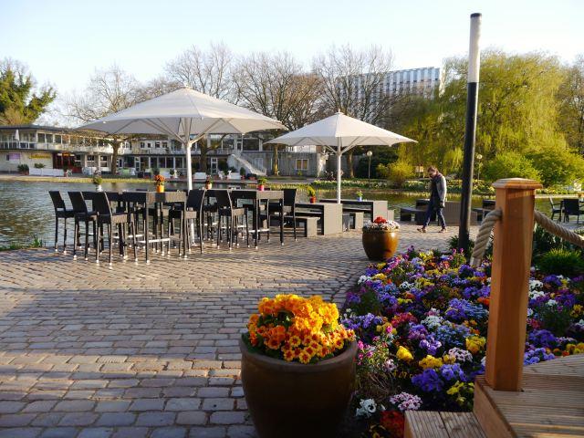 Café Seepavillon Planten un Blomen