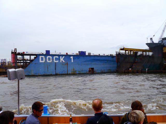 Schiff Hafenrundfahrt Hamburg