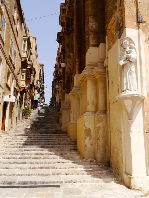Straßenzug in Valletta1