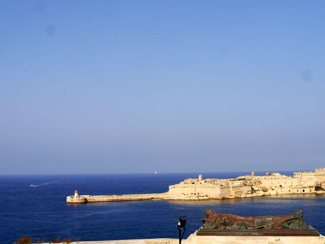 Valletta Ausblick auf den Hafen1