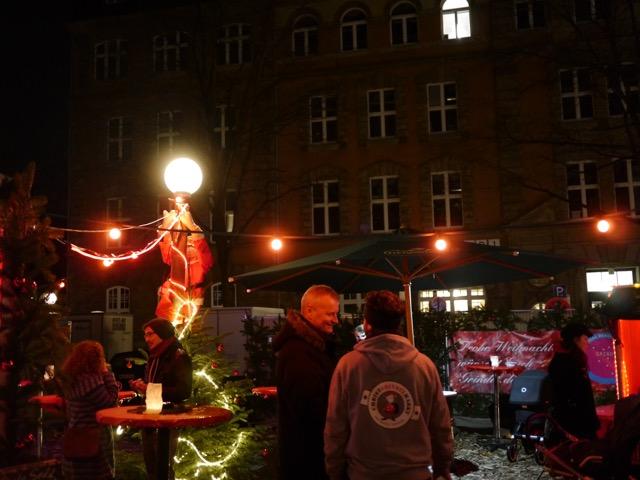 Christgrindelmarkt Hamburg Abend