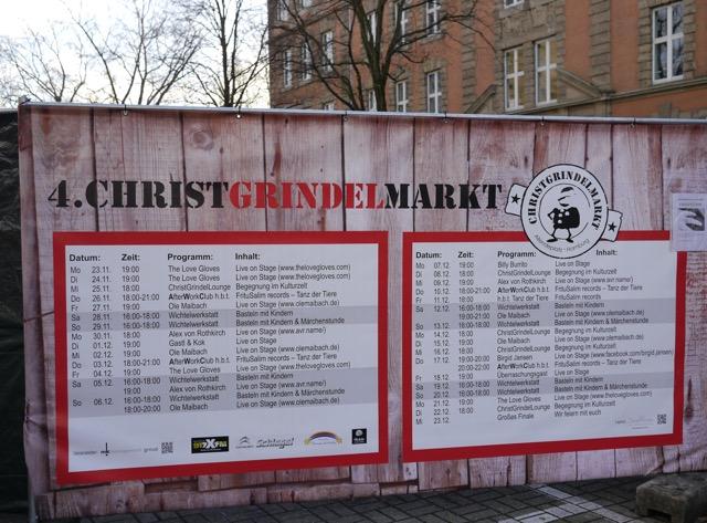 Programm ChristGrindelmarkt
