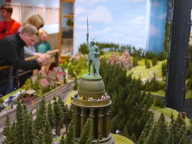 Herrmannsdenkmal Miniaturwunderland